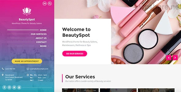 BeautySpot 3.4.5 – Beauty Salon WordPress Theme