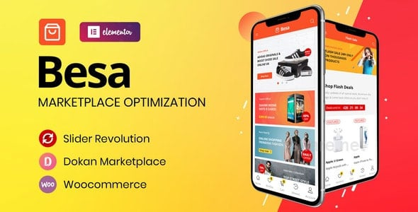 Besa 1.2.9 – Elementor Marketplace WooCommerce Theme