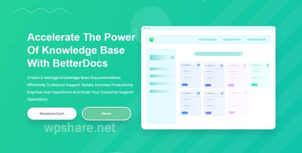 BetterDocs Pro 1.3.10 – Accelerate The Power Of Knowledge Base