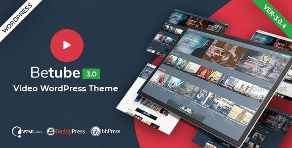 Betube 3.0.4 – Video WordPress Theme