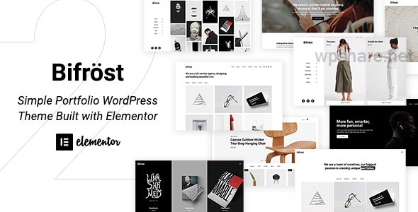Bifrost 2.1.8 – Simple Elementor WordPress Theme