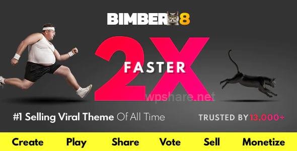 Bimber 9.0.3 – Viral Magazine WordPress Theme