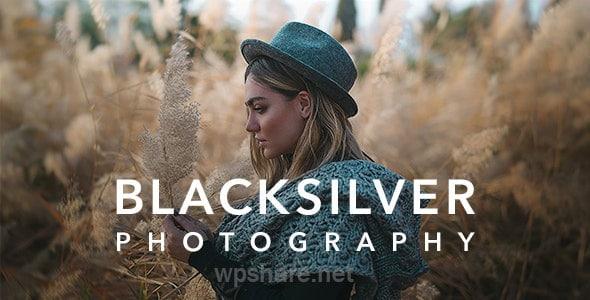 Blacksilver v8.4.4 – Photography Theme for WordPress