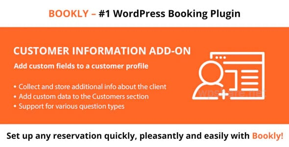 Bookly Customer Information Addon v1.9
