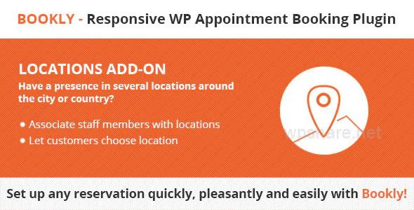 Bookly Locations Addon v4.4