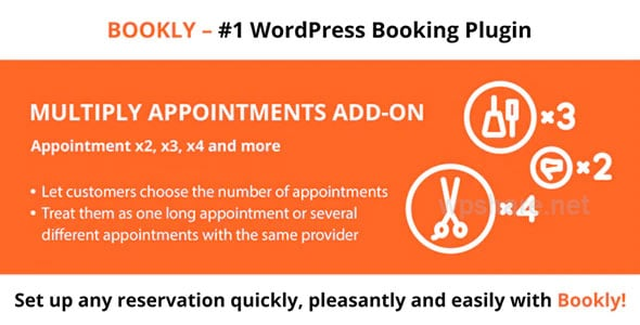 Bookly Multiply Appointments Addon v2.2