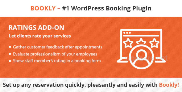 Bookly Ratings Addon v2.0