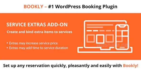 Bookly Service Extras Addon v4.1