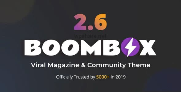 BoomBox 2.7.6 – Viral Magazine WordPress Theme