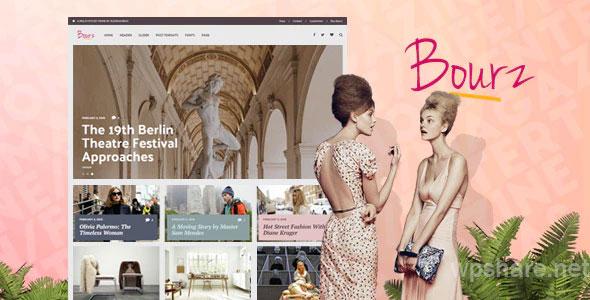 Bourz 7.0 – Life, Entertainment & Fashion Blog Theme