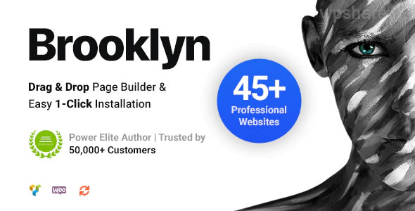 Brooklyn v4.9.6.2 – Creative Multi-Purpose Responsive WordPress Theme