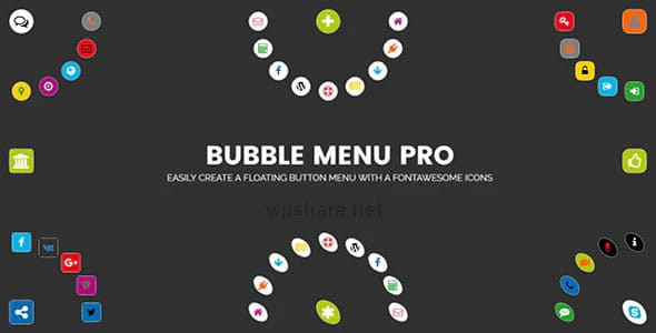 Bubble Menu Pro 2.0 – creating awesome circle menu with icons