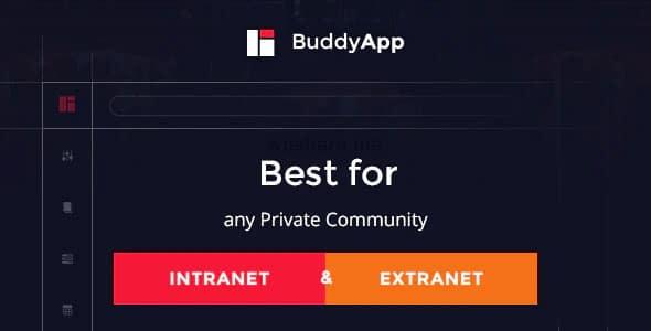BuddyApp 1.9.2 – Mobile First Community WordPress Theme