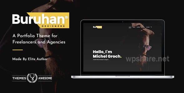 Buruhan 1.6 – A Portfolio Theme for Freelancers and Agencies