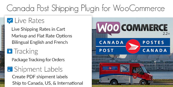 Canada Post Woocommerce Shipping Plugin v1.6.12