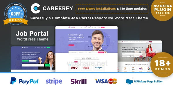 Careerfy v5.5.0 – Job Board WordPress Theme