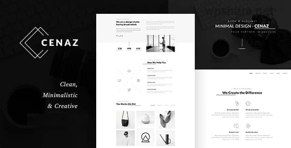 CEZAN 1.2.0 – Minimal Multipurpose WordPress Theme