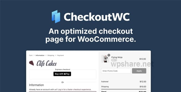 CheckoutWC 3.13.3 – Optimized checkout pages for woocommerce