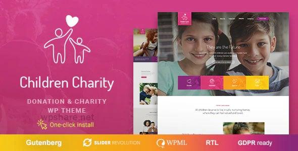 Children Charity 1.1.4 – Nonprofit & NGO WordPress Theme
