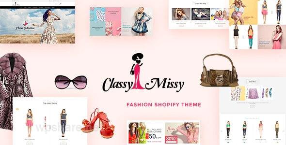 Classy Missy – Fashion Shop Shopify Store v2.0
