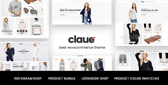 Claue 2.0.9 – Clean, Minimal Elementor WooCommerce Theme