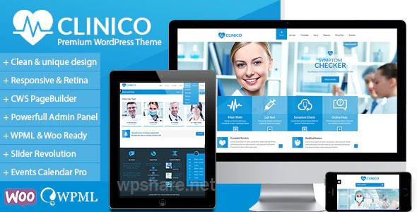 Clinico v1.7.9 – Premium Medical and Health Theme