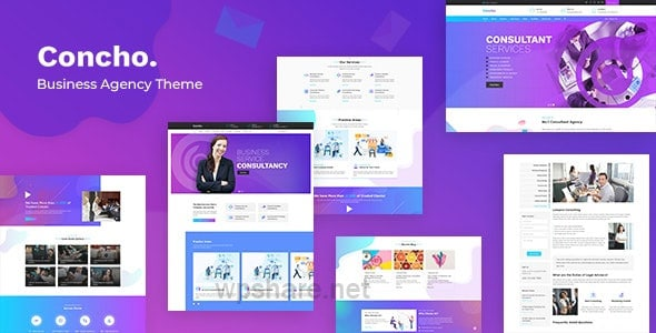 Concho – Consulting Services WordPress v1.8