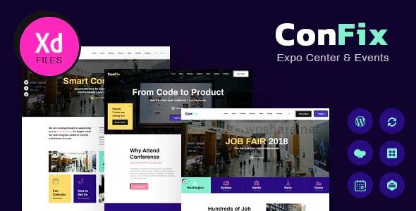 ConFix 1.0.2 – Expo & Events WordPress Theme