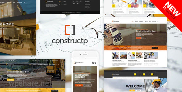 Constructo v4.1.7 – Construction WordPress Theme