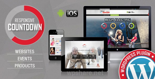 CountDown Pro WP Plugin – WebSites/Products/Offers v2.0
