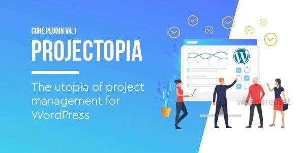 Projectopia 4.3.11 – WordPress Project Management Plugin