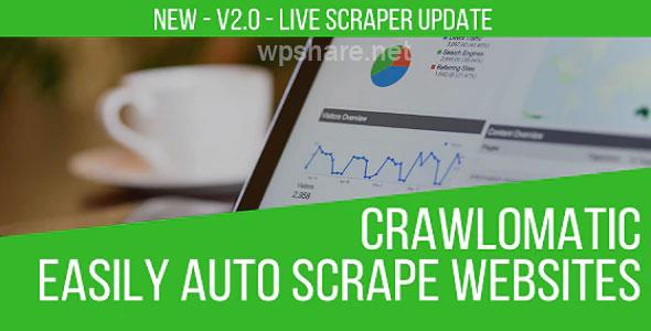 Crawlomatic v2.2.1 – Multisite Scraper Post Generator Plugin for WordPress