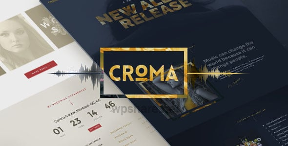 Croma 3.5.6 – Responsive Music WordPress Theme
