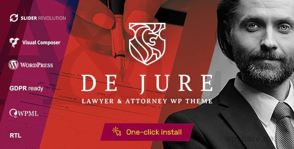 De Jure 1.1.0 – Attorney and Lawyer WP Theme