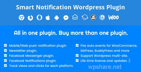 Smart Notification WordPress Plugin v9.3.0