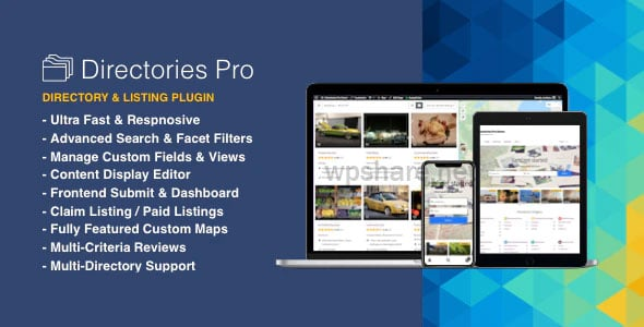 Directories Pro 1.3.51 – Directory plugin for WordPress