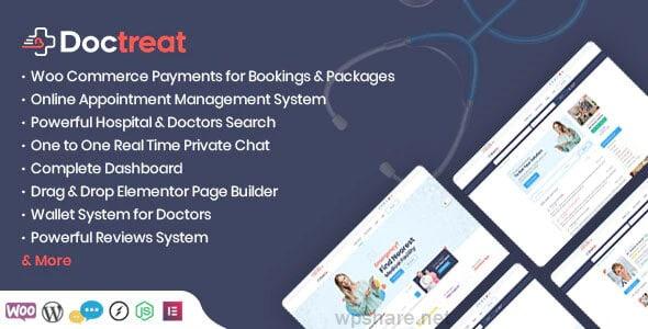 Doctreat 1.3.1 – Doctors Directory WordPress Theme