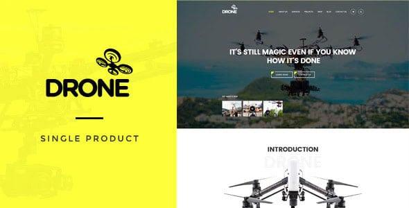 Drone 1.27 – Single Product WordPress Theme