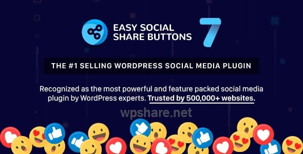 Easy Social Share Buttons for WordPress v7.9