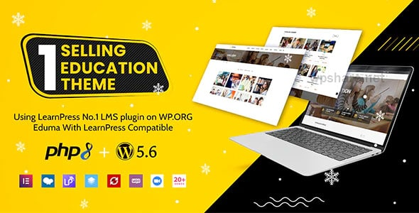 Eduma 4.4.2 – Education WordPress Theme