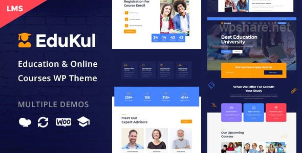 Edukul 1.13 – Online Courses WordPress Theme