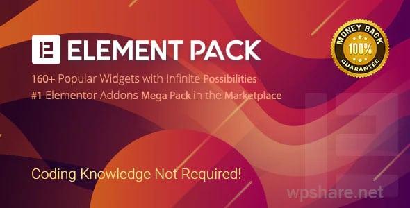 Element Pack v5.6.3 – Addon for Elementor Page Builder WordPress Plugin