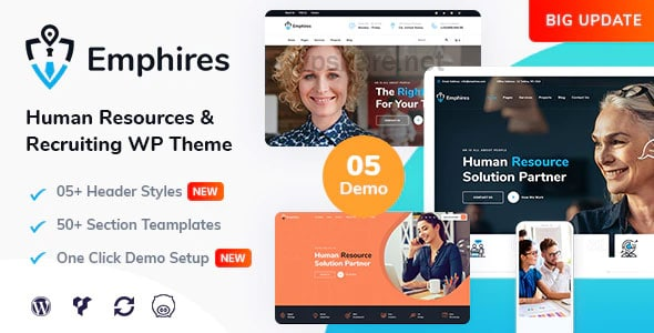 Emphires 2.2 – Human Resources & Recruiting Theme