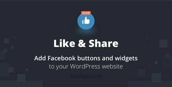 BestWebSoft's Like & Share Plus 2.69