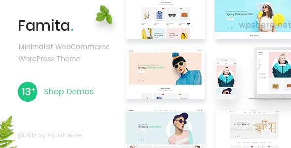 Famita 1.29 – Minimalist WooCommerce WordPress Theme