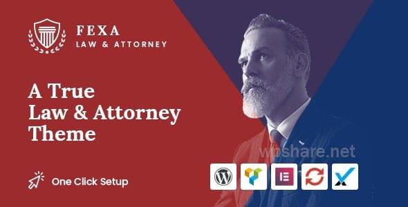 Fexa- Lawyer & Attorney WordPress Theme v1.2