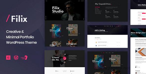 Filix 1.2.5 – Creative Minimal Portfolio WordPress Theme