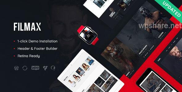 Filmax v1.1.1 – Cinema & Movie News Magazine WordPress Theme