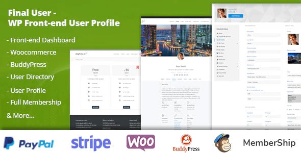 Final User 1.1.9 – WP Front-end User Profiles