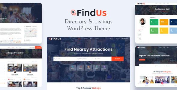 Findus 1.1.24 – Directory Listing WordPress Theme